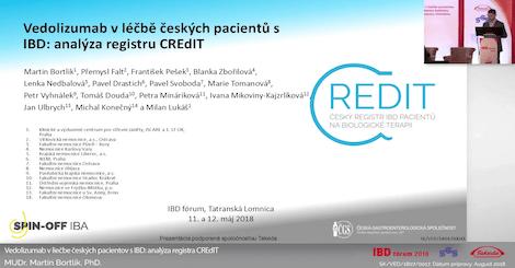 Vedolizumab v léčbě českých pacientů s IBD: analýza registru CREdIT
