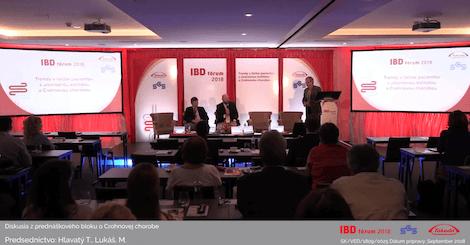 Diskuzia z prednáškového bloku o Crohnovej chorobe